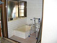 施工前の浴室